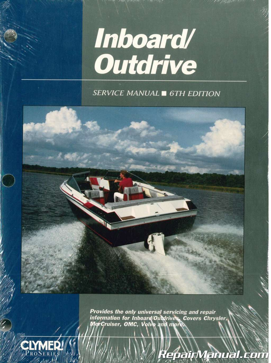 Inboard Outdrive Boat Transmission and Drive System Service Manual From  Early 60s