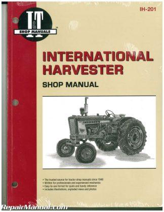 [TVPR_3874]  International Harvester 100 – 2504 B-275 B-414 Farm Tractor Service Manual | International 424 Wiring Diagram |  | Repair Manuals Online