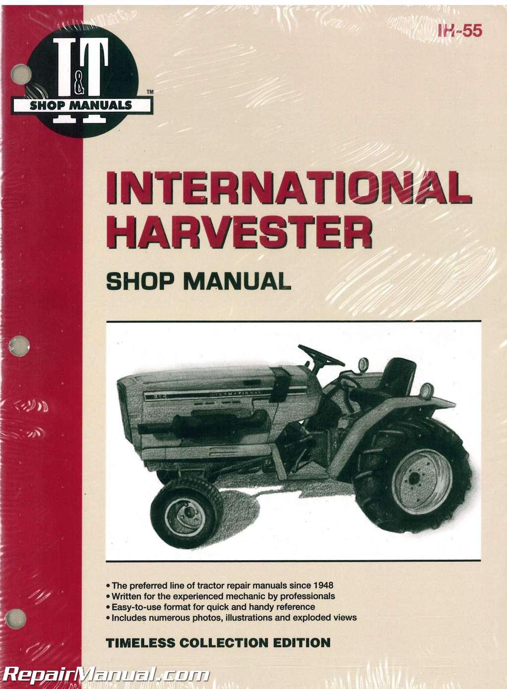 international harvester 234 234 hydro 244 254 tractor manual rh repairmanual com