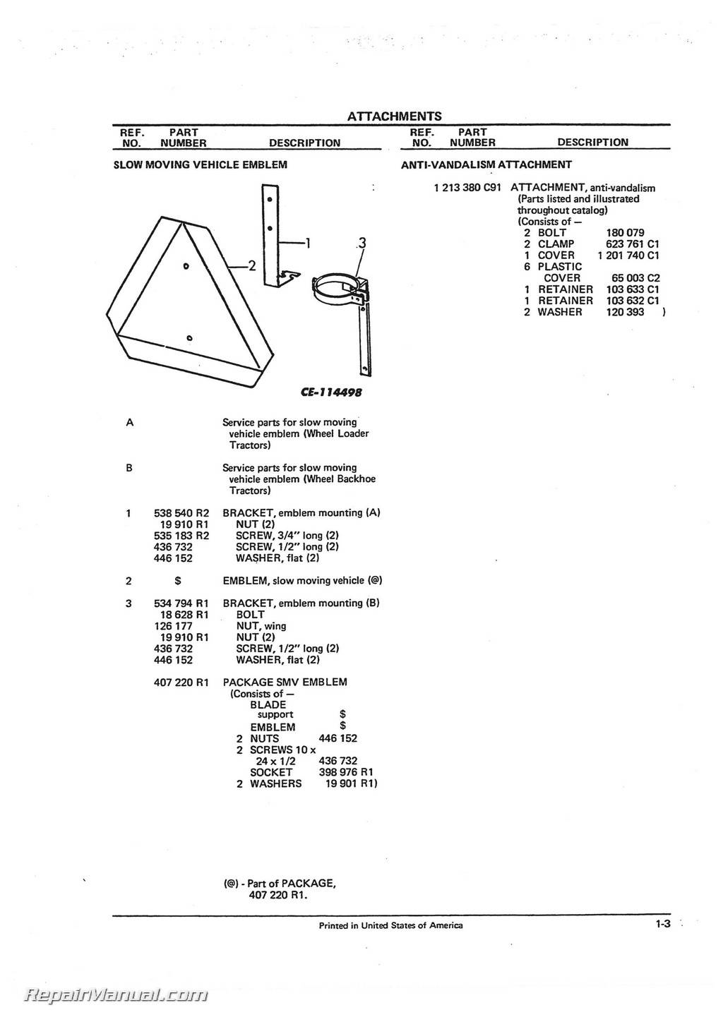 international harvester 260 a tractor loader backhoe parts manual international harvester 260 a tractor loader backhoe parts manual page 2