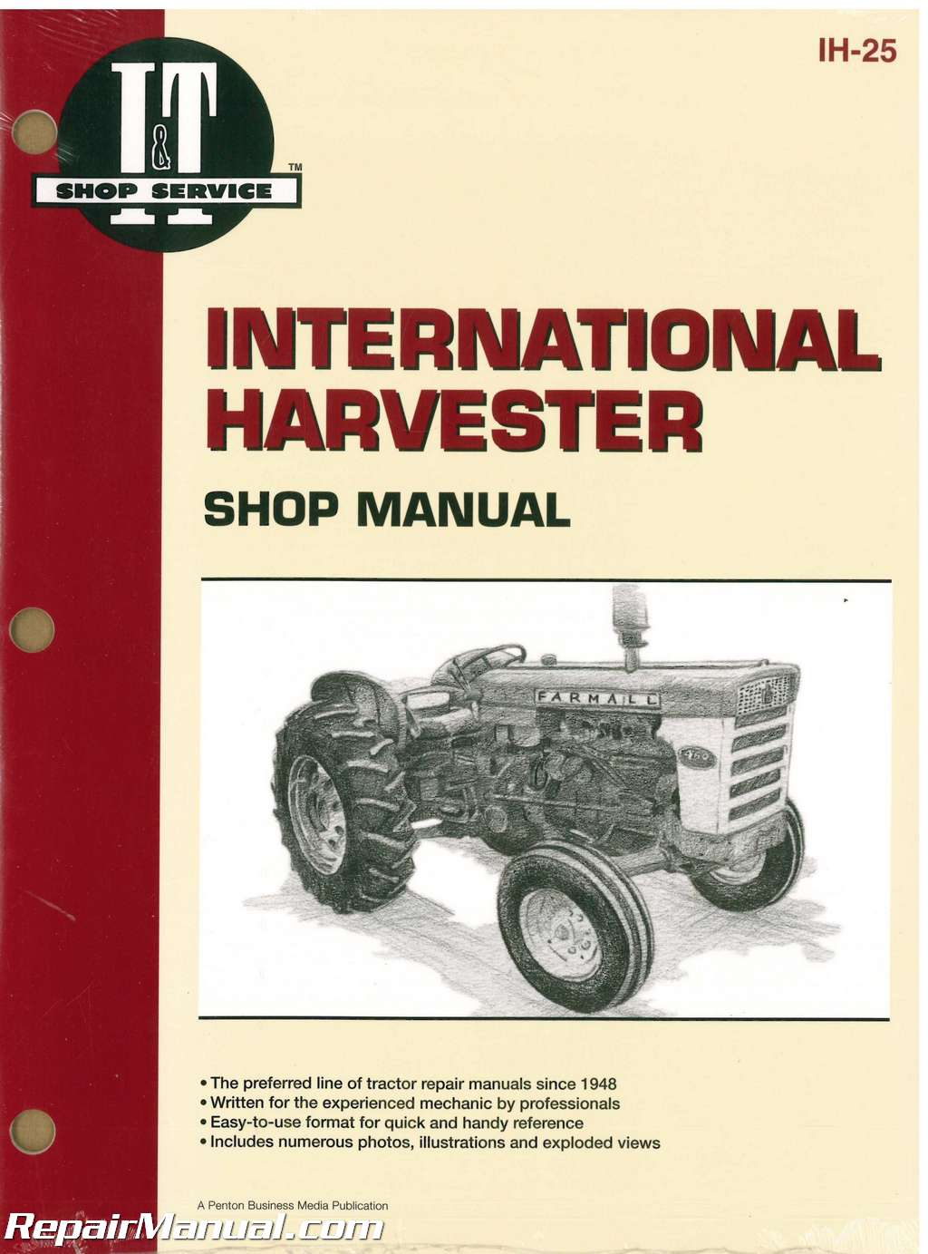 international harvester 2606, 460, 560, 606 and 660 tractor workshop manual Ih 806 Wiring Diagram