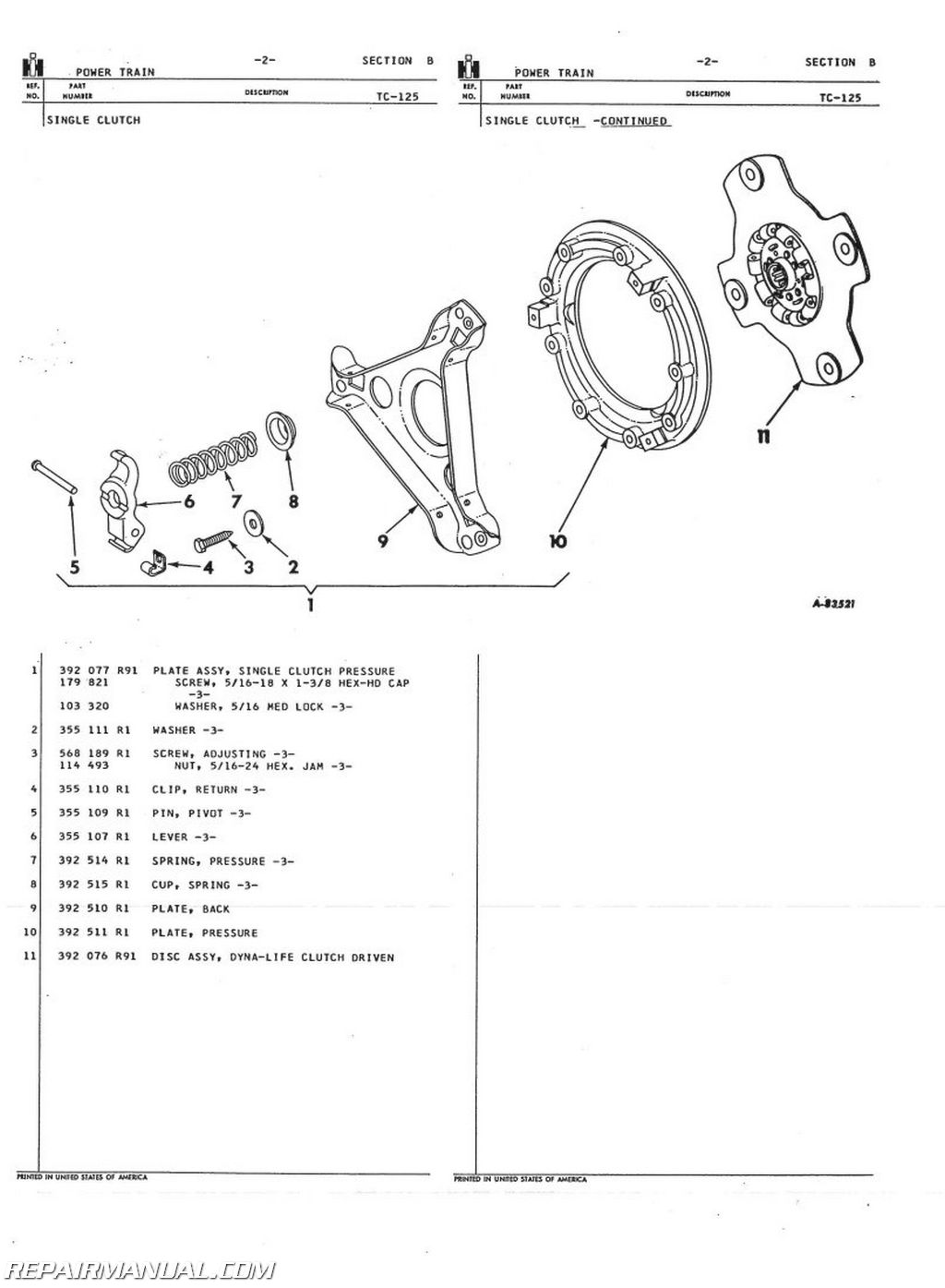 International Harvester 444 Wiring Diagram Real Wire Scout Ll 2444 Gas And Diesel Parts Manual Electrical Diagrams External Voltage Regulator