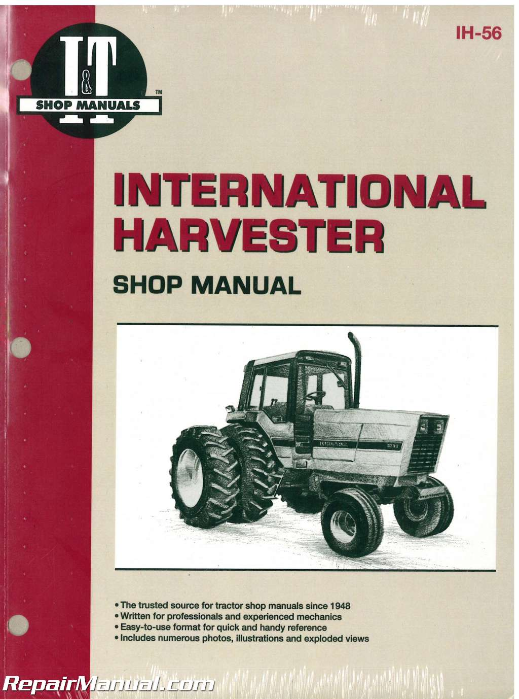 International Harvester 5088 5288 5488 Tractor Manual