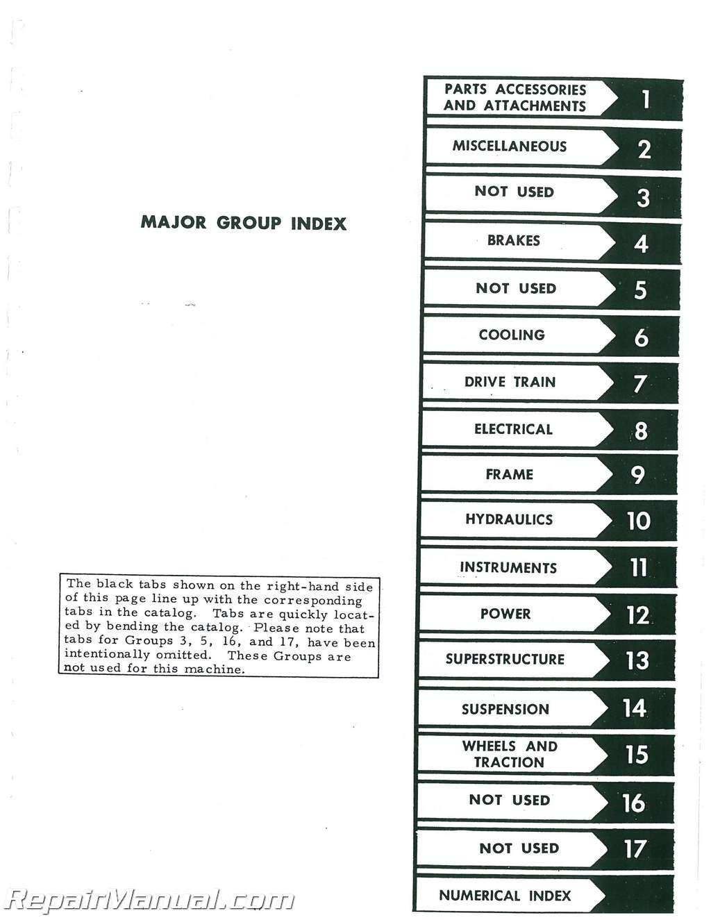 International 674 parts Manual