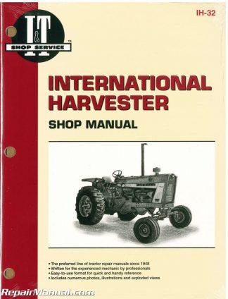 International Harvester 100 – 2504 B-275 B-414 Farm Tractor ... on