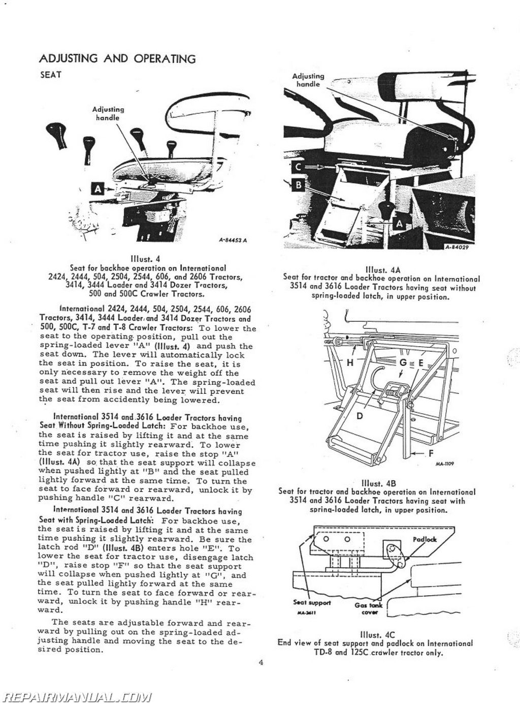 International 3414 Manual