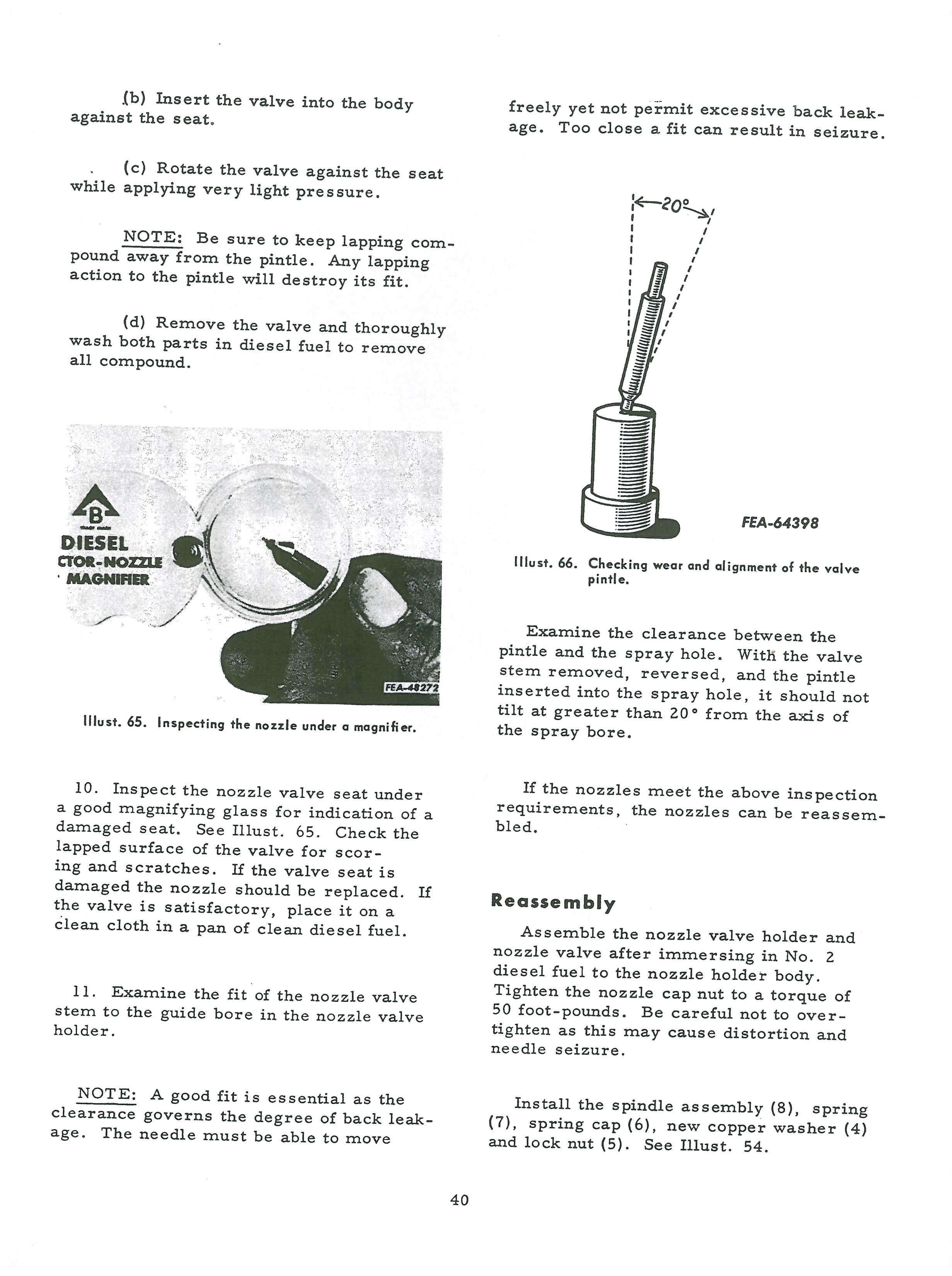 International Harvester CAV Diesel Injection Pumps Service Manual