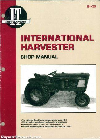 international harvester cub 154 184 185 lo-boy farmall cub tractor  workshop manual