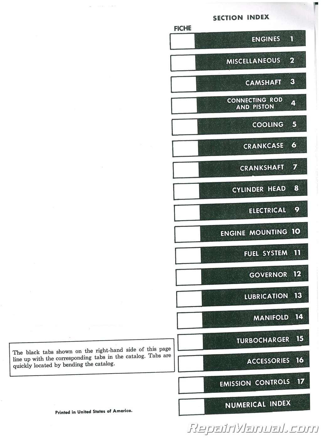 International Engine Parts Diagram Wiring Library Navistar Dt466 Harvester D817 Series C Manual