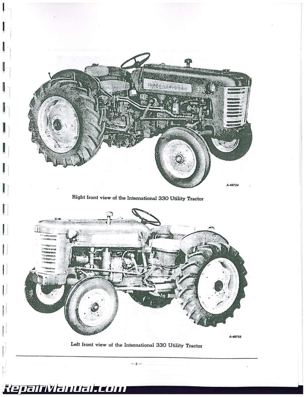 international harvester farmall 340 parts manual rh repairmanual com International 340 International 340