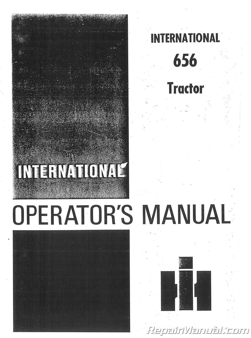 International Harvester Farmall 656 Operators Manual