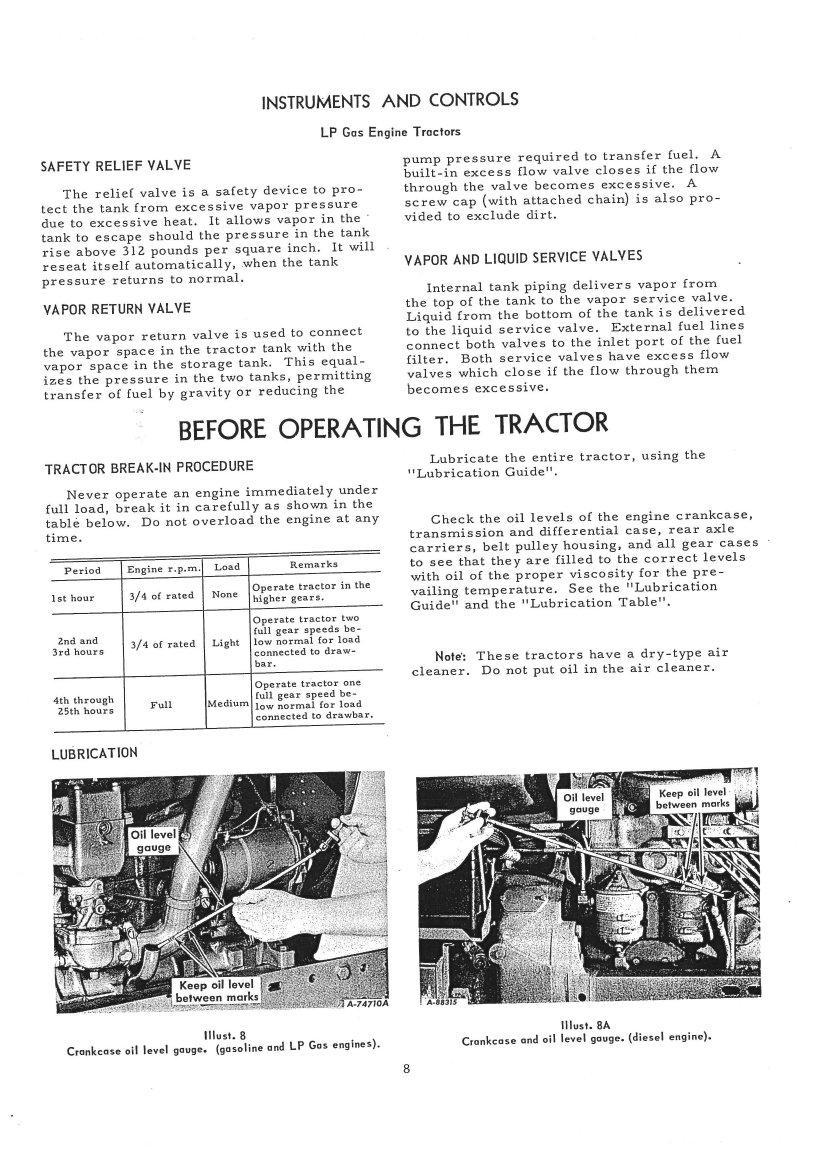 international harvester farmall 806 tractor operators manual rh repairmanual com Farmall 460 Farmall 1466