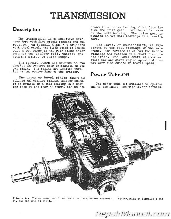 farmall super h clutch diagram owner manual \u0026 wiring diagram Farmall H Engine Removal