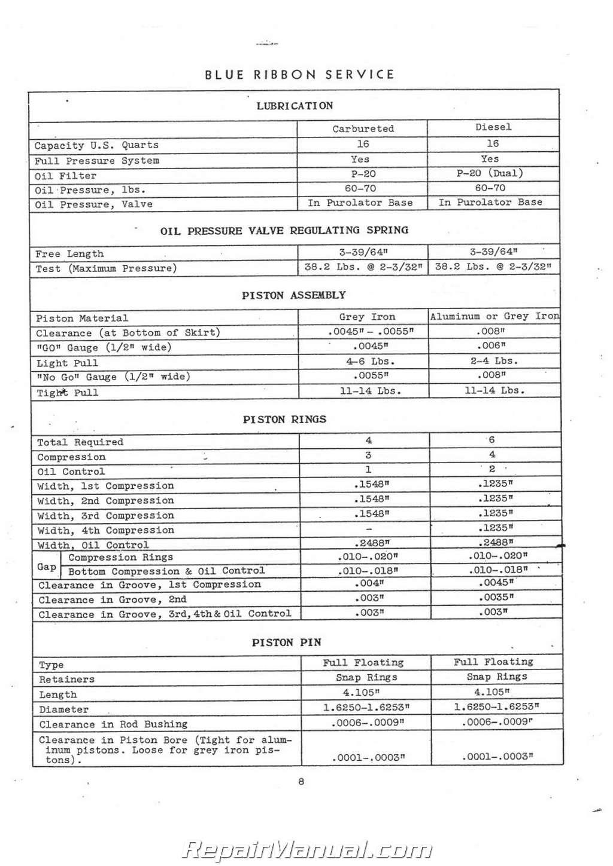 International Harvester T14 Td14 Ud14 Service Manual