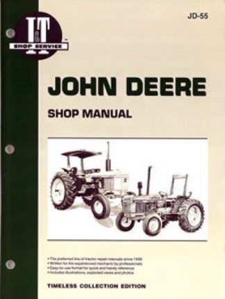 John Deere 1250 1450 and 1650 Tractor Manual