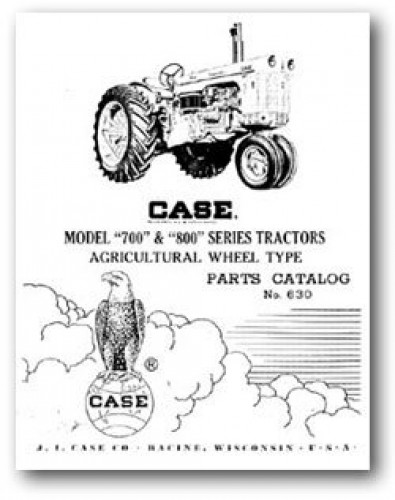 Case Tractor Parts Diagrams : Ji case model and parts manual