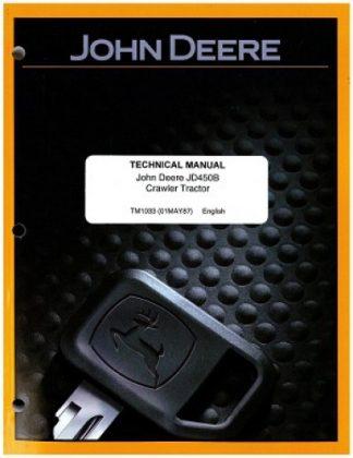 John Deere 450B Crawler Loader Service Manual