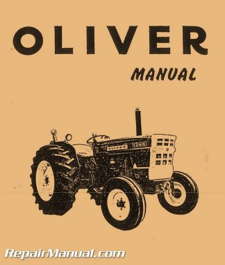 Oliver White1250A 1255 1265 MM-G350 Factory Service Manual