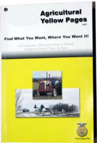 Agricultural Yellow Pages - Everything Ag 2002 Edition