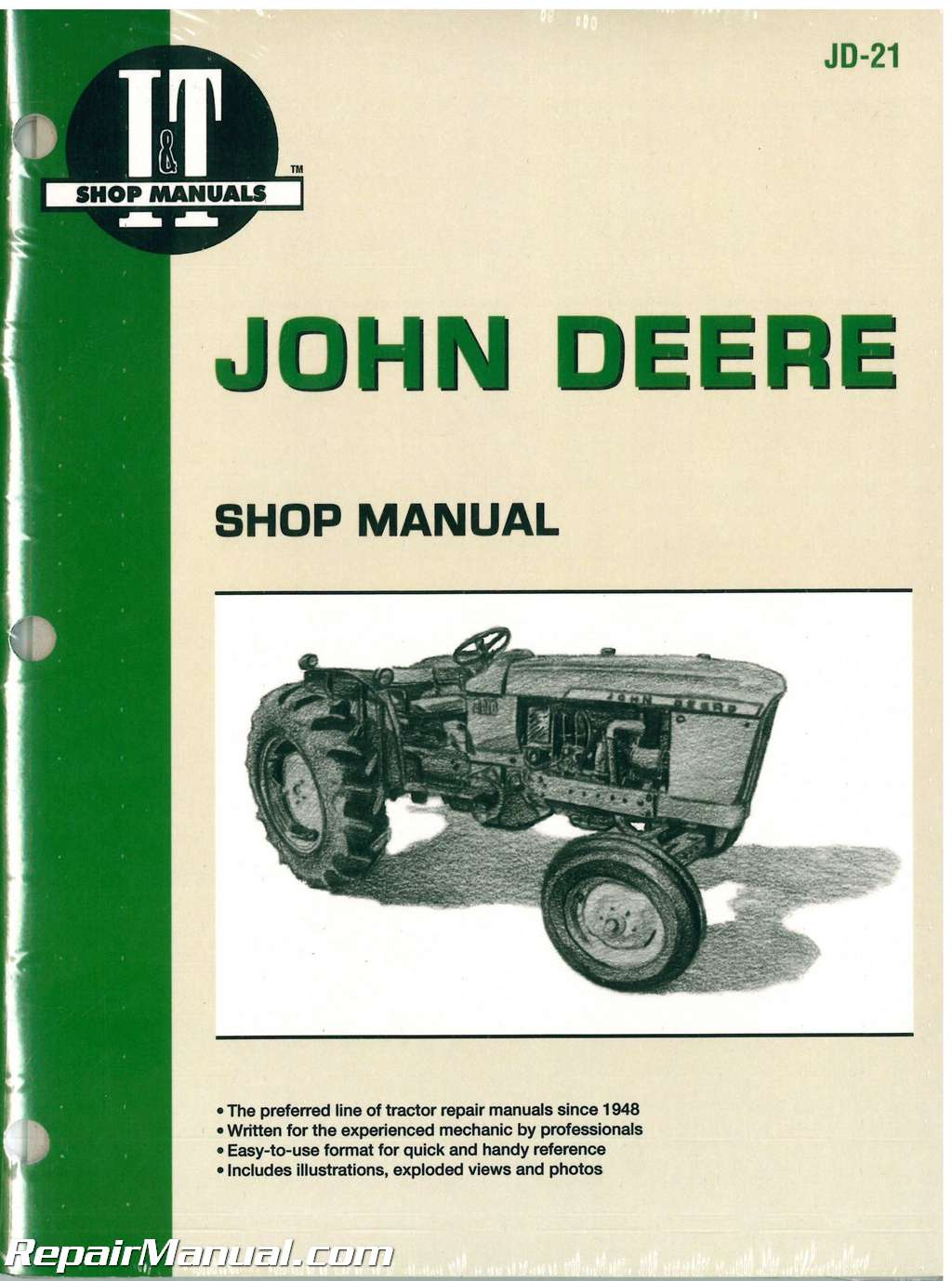 john deere   tractor workshop service manual