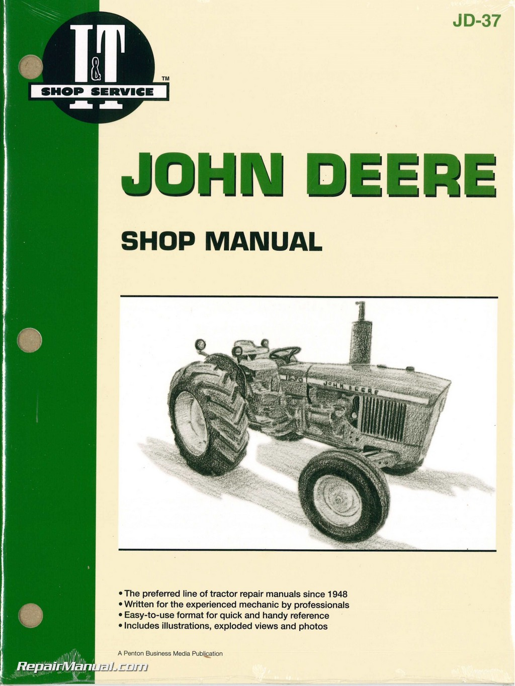 John Deere 1020 1520 1530 2020 2030 Tractor Workshop Manual Manual Guide