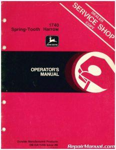 John Deere 1740 Spring Tooth Harrow Operators Manual_001