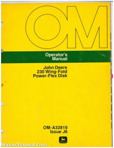 John Deere 230 Wing-Fold Power-Flex Disk Operator Manual_001