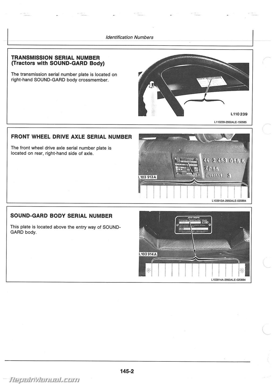 100 3020 John Deere Manuals – L110 John Deere Wiring Diagram