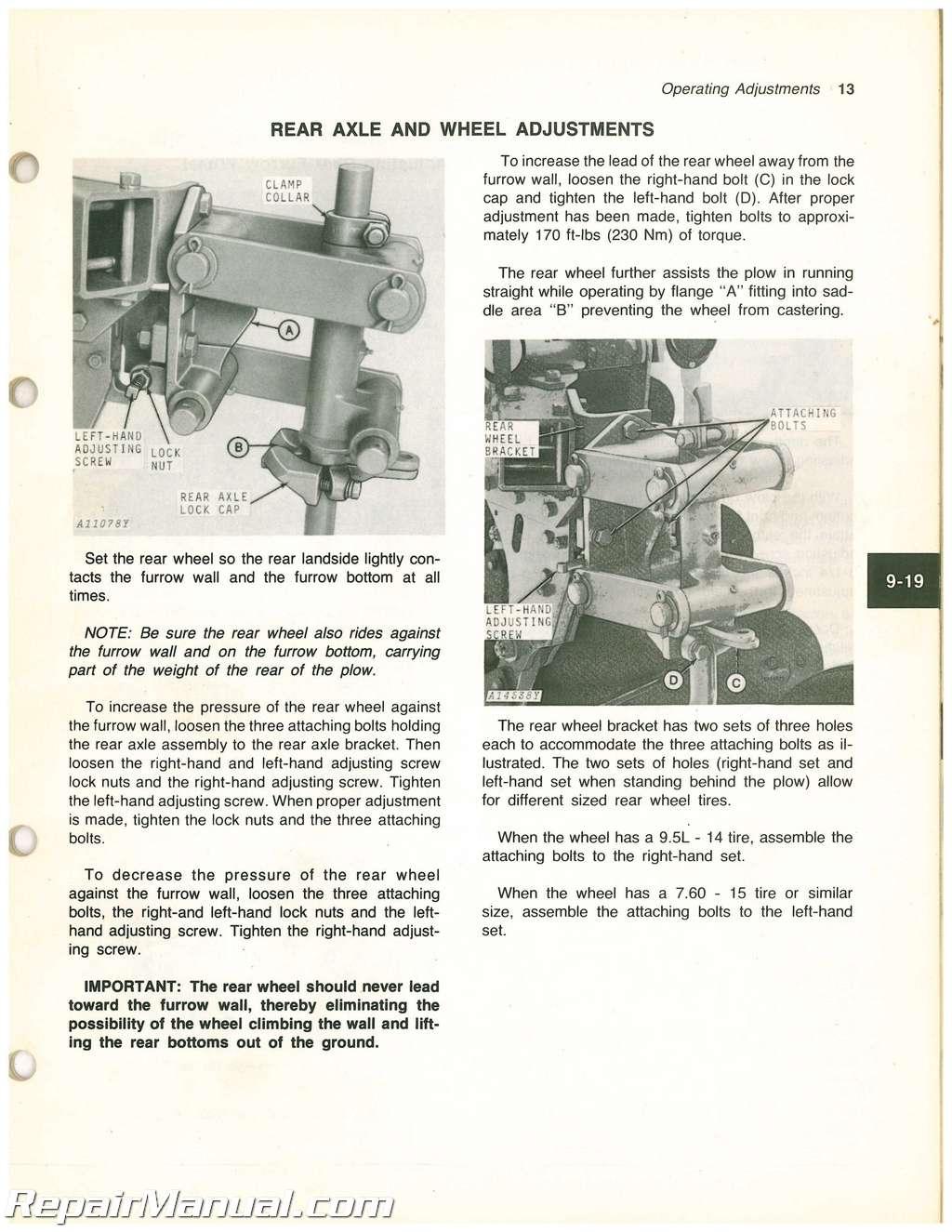 john deere 100 series parts manual