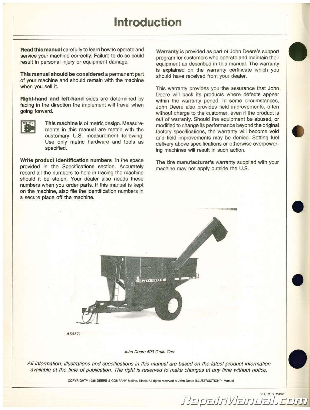 Heavy Equipment, Parts & Attachments John Deere 50 Series ...