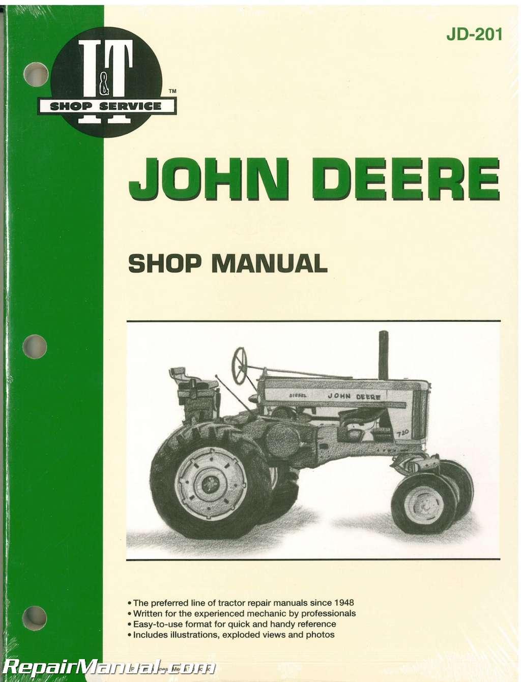 John Deere 720 730 40 320 330 420 430 440 80 820 830 435D 4401D Tractor  Manual