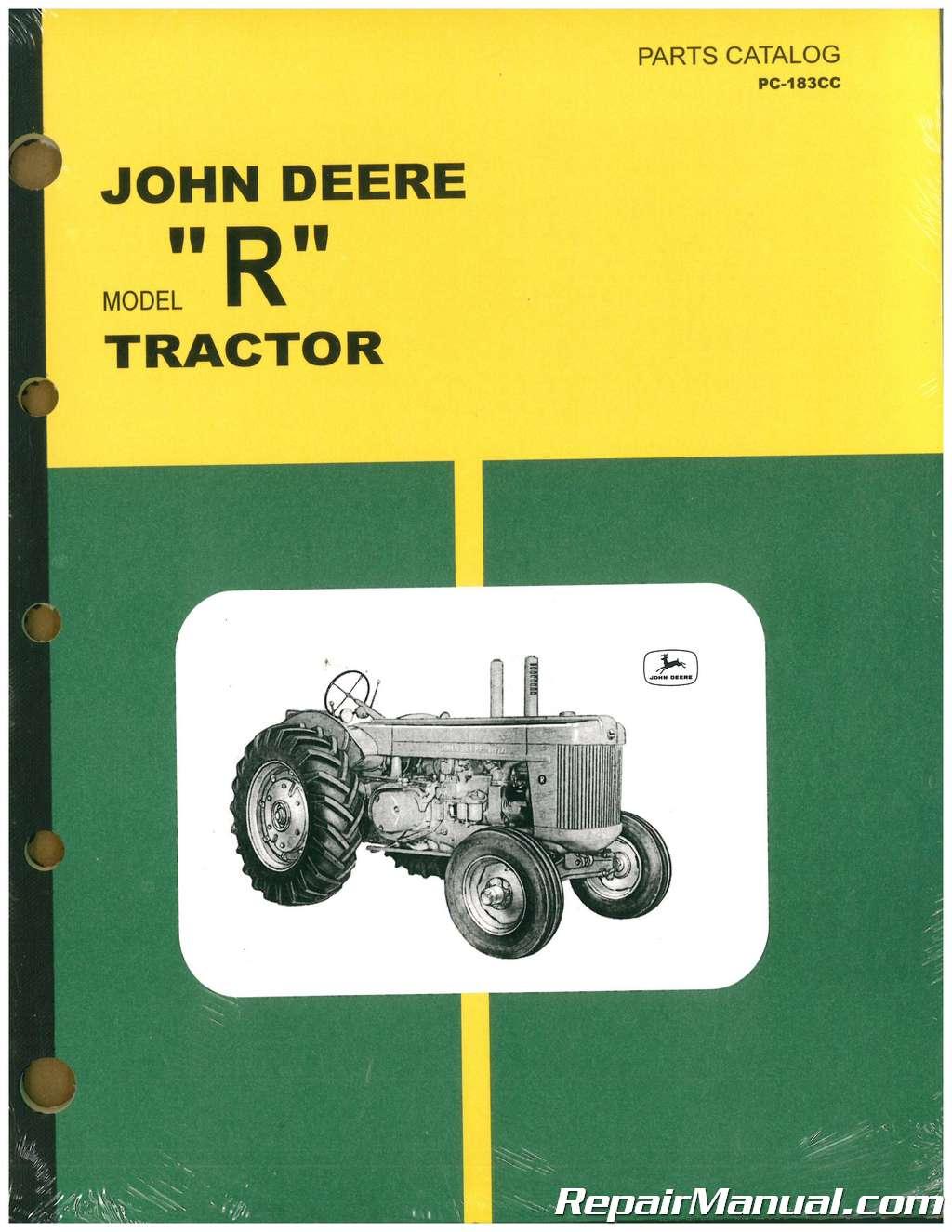 free john deere tractor repair manuals