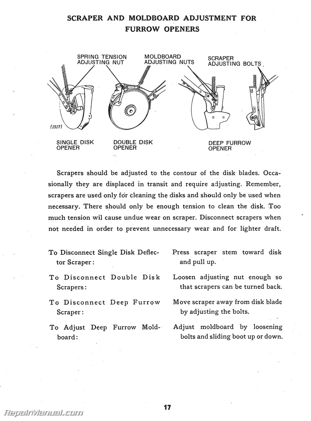 john deere van brunt model b grain drill operators manual parts manual rh repairmanual com john deere b manual download john deere model b service manual