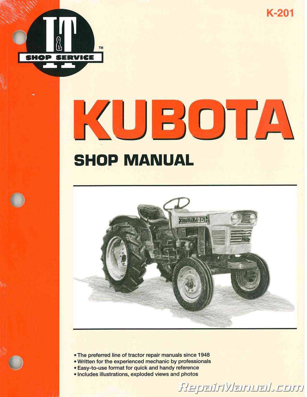 kubota tractor manual l175 l210 l225 l225dt l260 b5100d b5100e rh repairmanual com kubota tractors manuals free download kubota tractors manual b7100hst-d