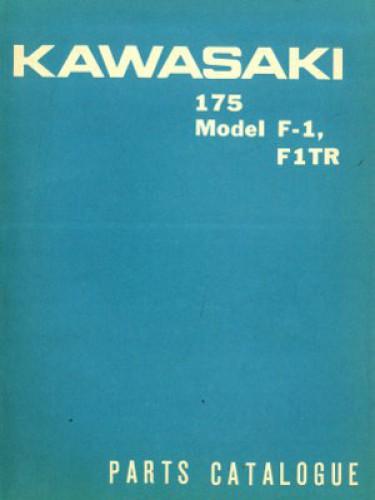 1966 Kawasaki 175 F1TR and 175 F1 Parts Manual