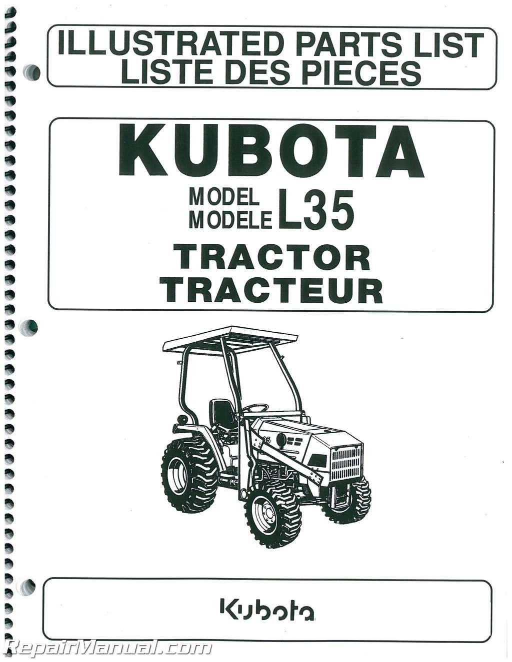 kubota l35 parts manual. Black Bedroom Furniture Sets. Home Design Ideas