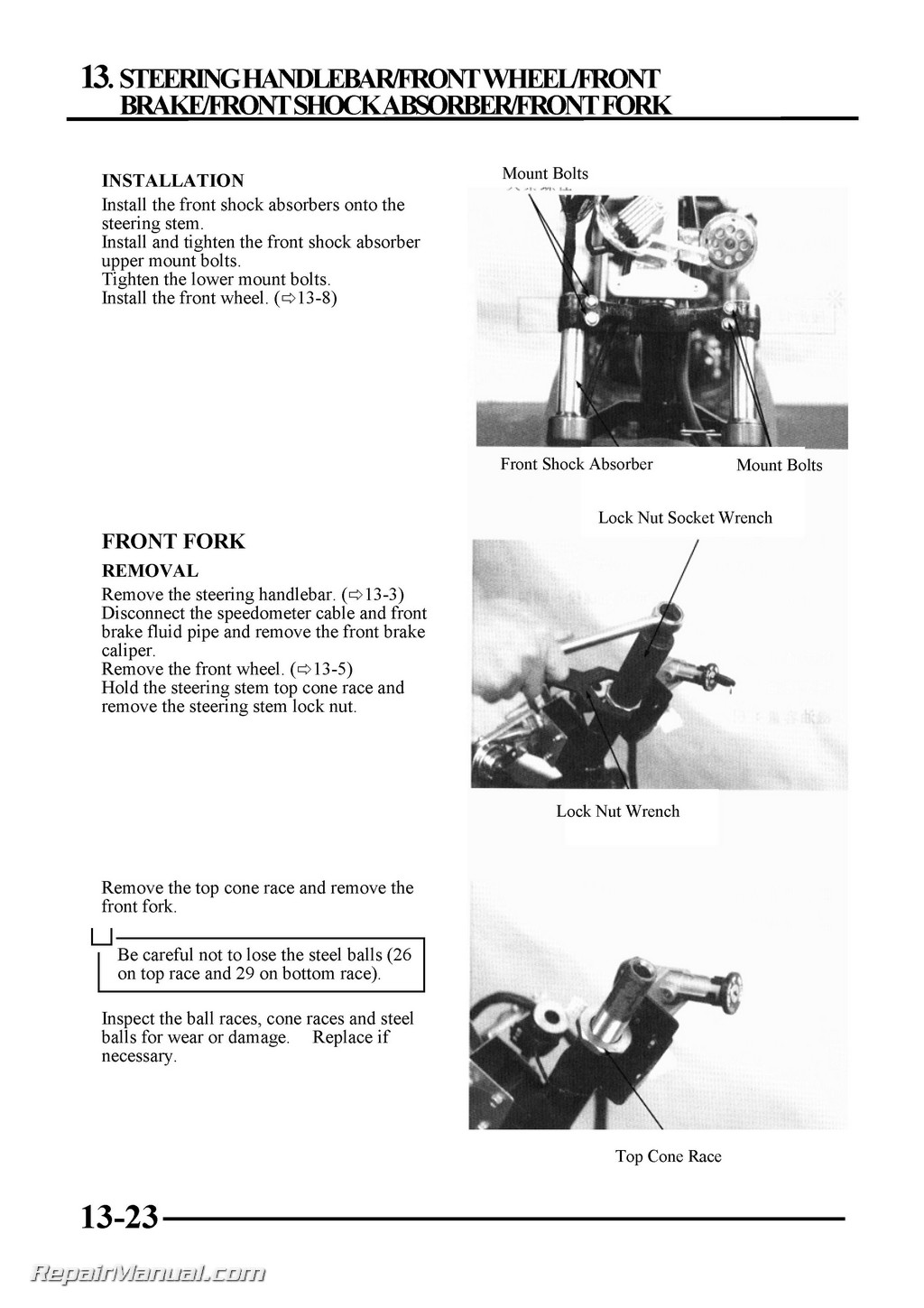 Kymco Cobra 50 Top Boy Scooter Service Manual Printed By border=