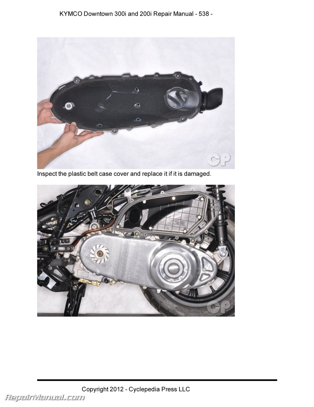 Kymco Downtown 300i 200i Scooter Repair Manual In Print Vtx 1300 Brake Wiring Diagram