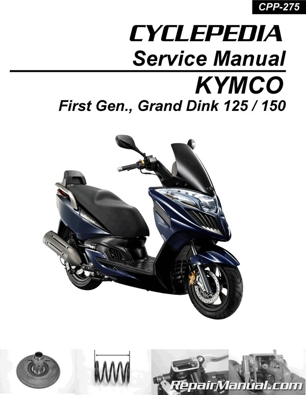 Kymco Grand Dink 125 150 Scooter Manual