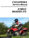 KYMCO MAXXER 375 ATV Service Manual
