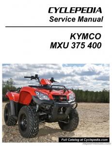 KYMCO MXU 375 400 ATV Service Manual_Page_1