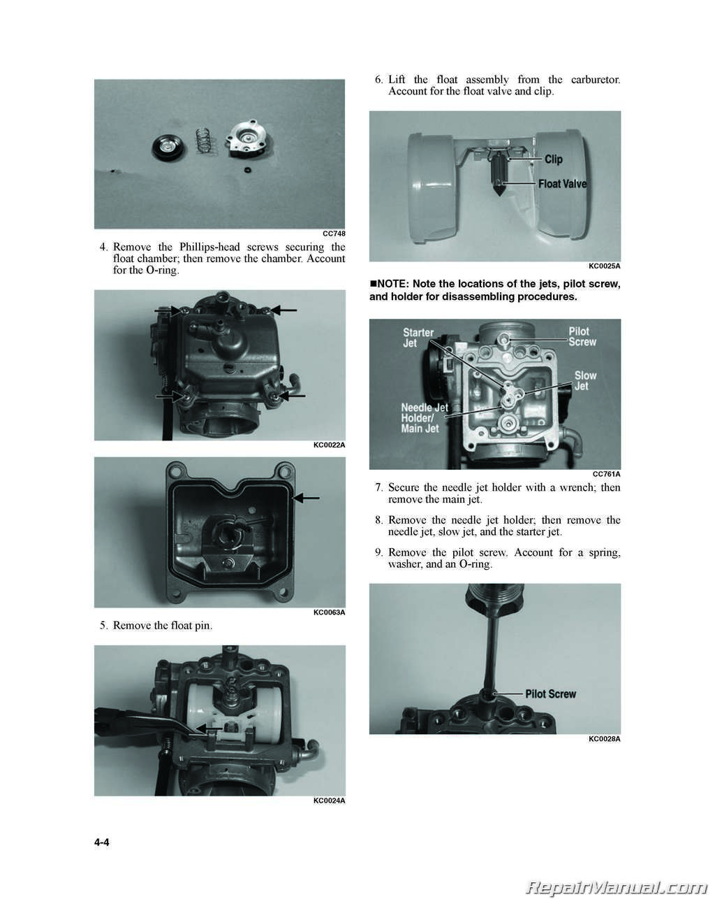 Kymco Mxu 150 Atv Service Manual Printed By Cyclepedia