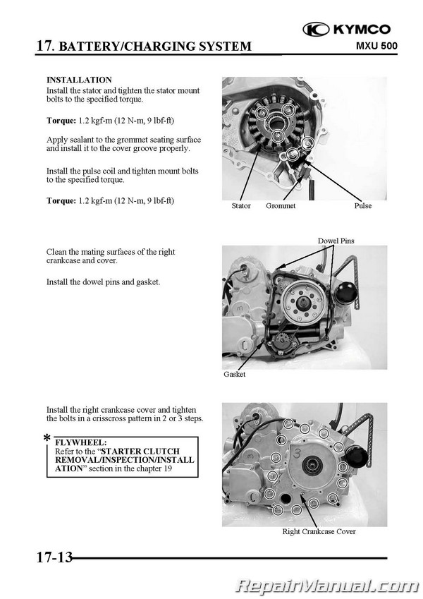 Kymco Mxu Atv Swingarm Solid Rear Axle Service Manual Printed By Cyclepedia Page on Kymco Uxv 500 Service Manual