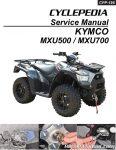 KYMCO MXU 500i 700i ATV Paper Service Manual_Page_1