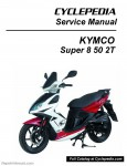 KYMCO Super 8 50 2T Scooter Service Manual Printed