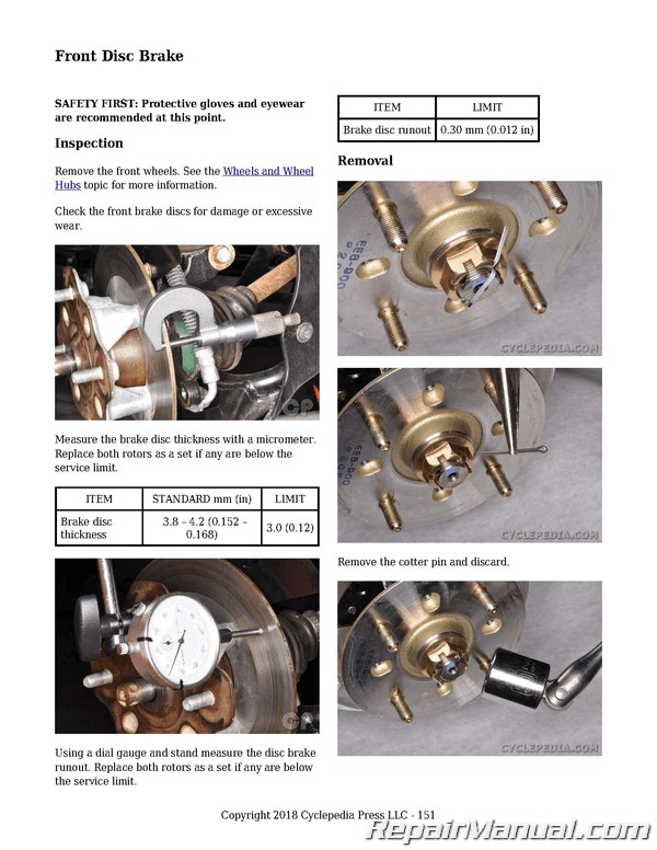 KYMCO UXV500 4X4 Side X Side Printed Service Manual By Cyclepedia Press LLC