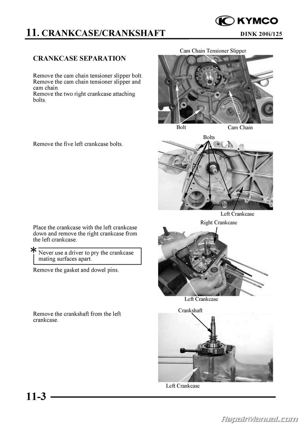 Kymco Yager Dink 125cc 200cc Scooter Printed Repair Manual Ebay 2008 Wiring Diagram 125 200 Page 4