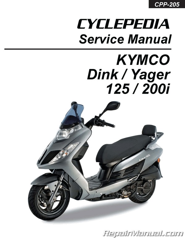 kymco yager service manual