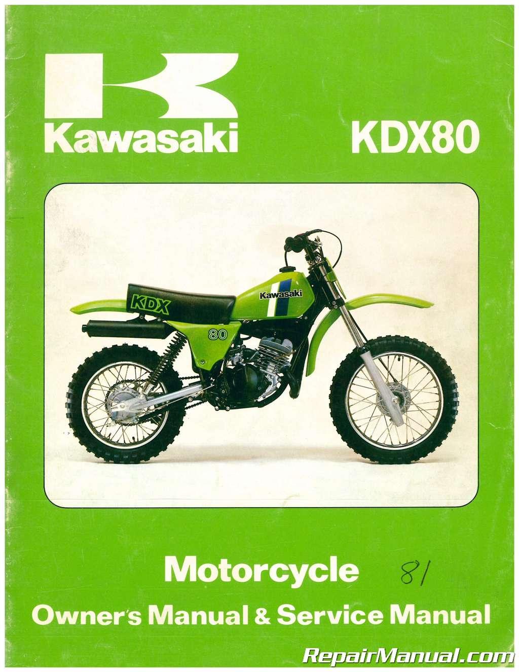 Kawasaki Kdx Owners Manual