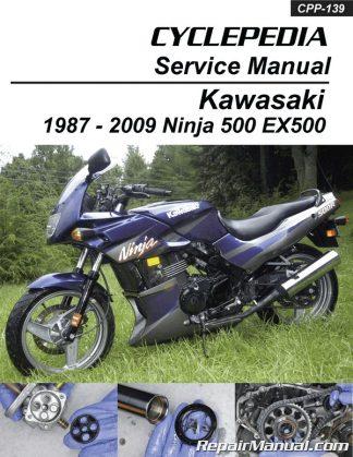 Kawasaki EX500 Ninja 500 Cyclepedia Printed Motorcycle Service ManualRepair Manuals Online